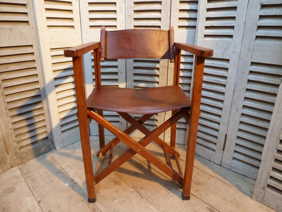 Fauteuil metteur en sc ne madebymed fauteuil club restauration tradition - Fauteuil metteur en scene ...
