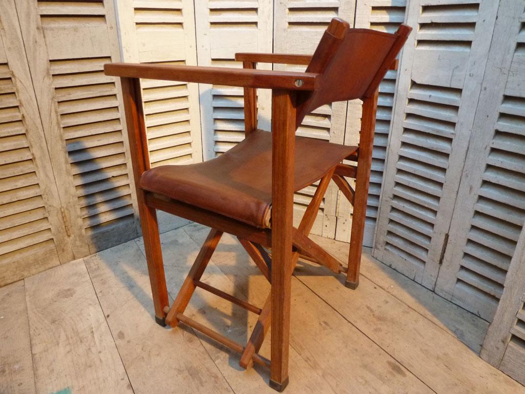 Fauteuil metteur en sc ne madebymed fauteuil club for Fauteuil de bureau cuir et bois