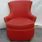 chauffeuse rouge 1