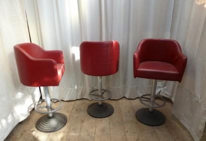 fauteuil bar skai rouge